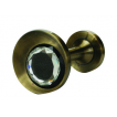 Zakończenia karnisza złoto 19 mm