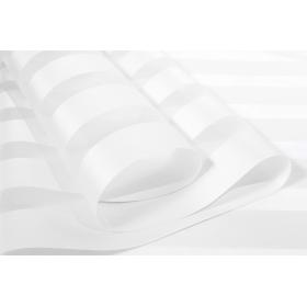 Tkanina Dzień Noc Zebra III biała