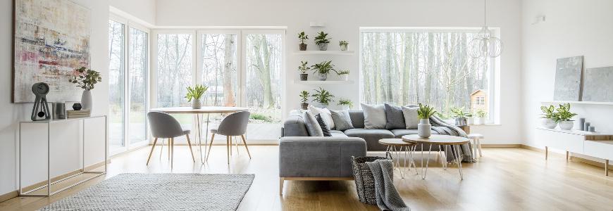 Salon w stylu skandynawskim - propozycje aranżacyjne