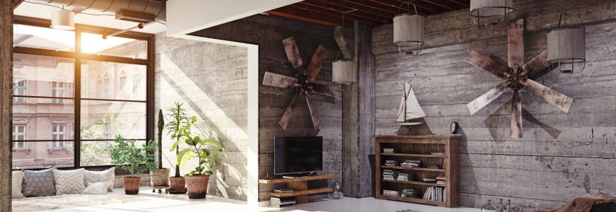 Salon industrialny - jak urządzić loft?