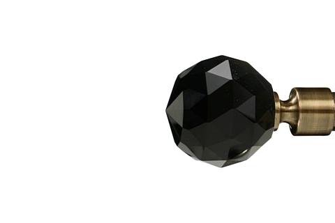 Czarna kryształowa kula - Złoto