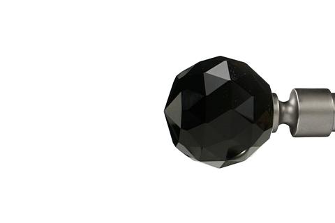 Czarna kryształowa kula - Satyna