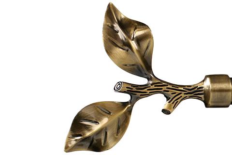 Liść róży - Złoto