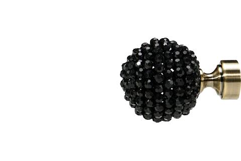 Czarny koral - złoto (25mm)