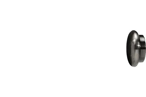 Grzybek - antracyt (25mm)