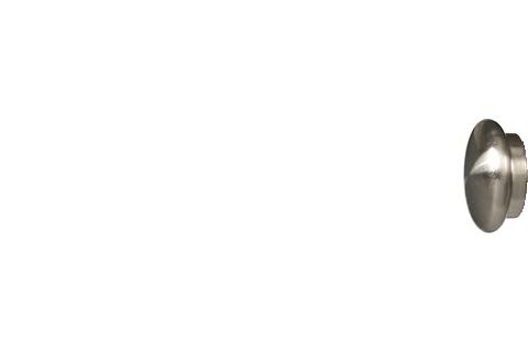 Grzybek - nikiel (25mm)
