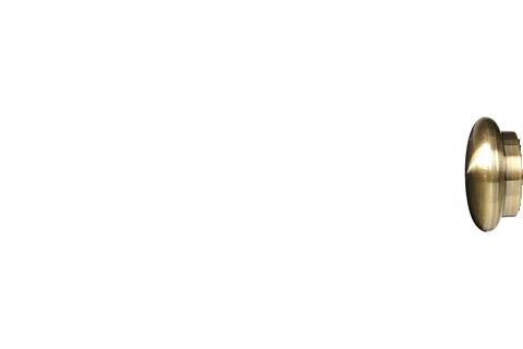 Grzybek - złoto (25mm)