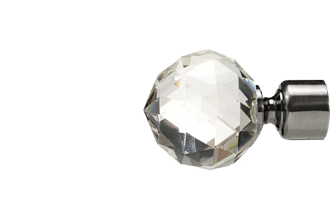 Krysztalowa kula - antracyt (25mm)