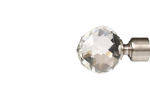 Krysztalowa kula2 - nikiel (25mm)