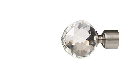 Krysztalowa kula2 - satyna (25mm)