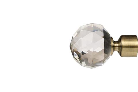 Krysztalowa kula2 - złoto (25mm)