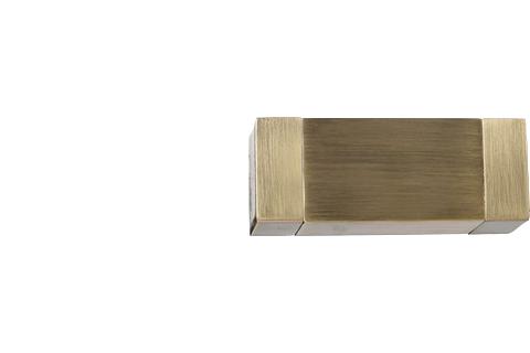 Kwadro - złoto (25mm)